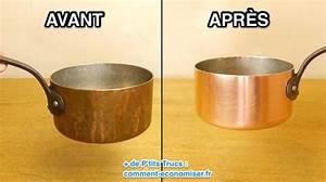 Nettoyer Du Cuivre : l 39 astuce magique pour que vos casseroles en cuivre ~ Melissatoandfro.com Idées de Décoration
