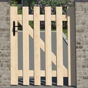 Portillon Bois Jardin : portillon en bois meribel 100 cm castorama ~ Preciouscoupons.com Idées de Décoration
