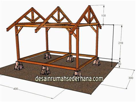 buat rumah kayu desainrumahidcom