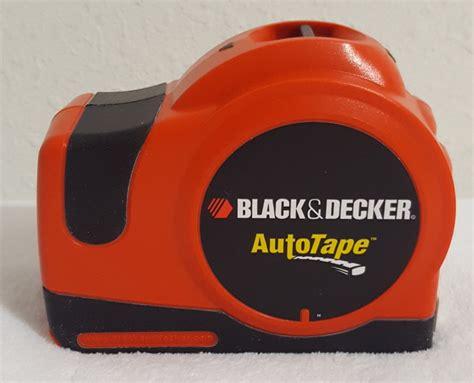 Black & Decker Atm100 25foot Auto Tape Measure, Type 3 Ebay