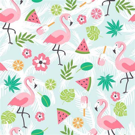 compre dibujos animados flamingo telon de fondo impreso