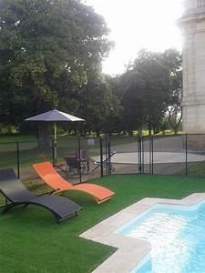 Gazon Synthétique Saint Maclou : une piscine du gazon synth tique et un transat a sent ~ Dailycaller-alerts.com Idées de Décoration