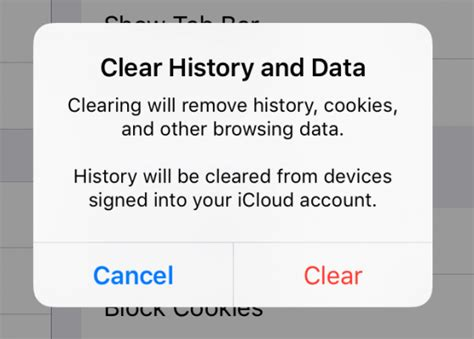 clear the history and cookies from safari on your iphone how to delete cookies and stored website data in safari