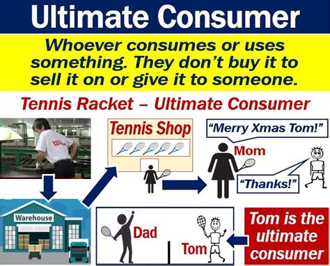 What is the ultimate consumer? Definition and examples