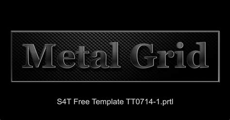 free premiere pro title templates style4type free s4t premiere pro title template plus texture metal grill