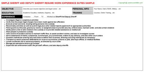 sheriff and deputy sheriff title docs