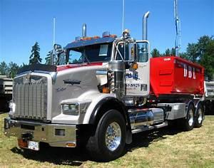 Kenworth custom T800 roll off | www.dieseltees.com #trucks ...