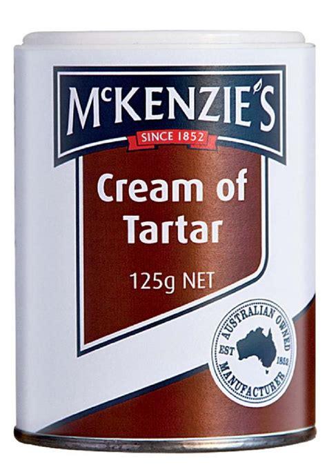 mckenzies cream  tartar