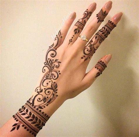 The 25 Best Finger Henna Designs Ideas On Pinterest Henna Mehndi