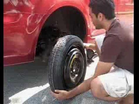Mazda 6 Spare Tire Change