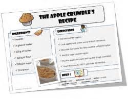 recette cuisine en anglais anglais recettes pour cuisiner avec vos élèves le de mysticlolly