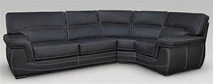 Chesterfield Sofa Glasgow : babylon 3 corner 1 genuine italian black leather corner sofa group suite offer ~ Markanthonyermac.com Haus und Dekorationen