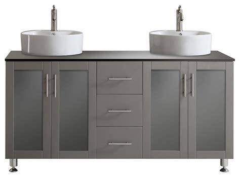 Tuscany Double Vanity, Gray,