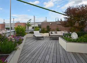 exklusive dachterrasse mit sichtschutz walli wohnraum garten With französischer balkon mit garten dachterrasse