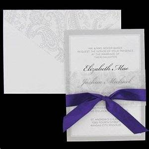wedding invitations images elegant weddi and wedding With hobby lobby purple wedding invitations