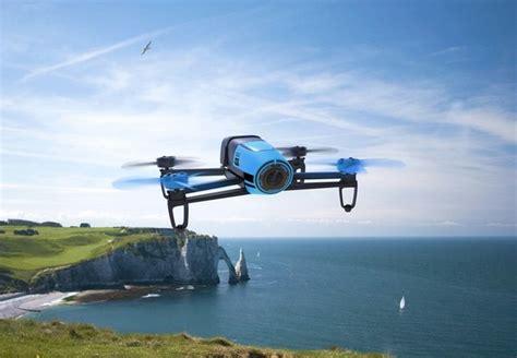multicoptero parrot bebop drone azul mando skycontroller zona outdoor