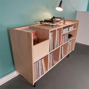 Meuble Platine Vinyle Vintage : oltre 1000 idee su meuble vinyle su pinterest porta dischi in vinile magazzino di ~ Teatrodelosmanantiales.com Idées de Décoration