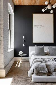 28, Ideas, For, Black, Wall, Interior, Styling