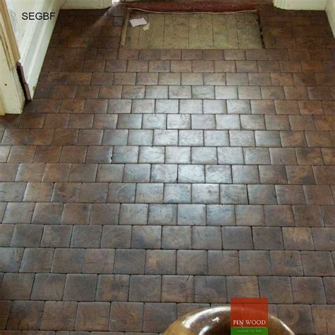 Square End Grain Blocks Flooring   London