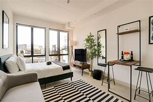 Selection, Of, Furniture, According, To, Studio, Apartment, Layout, And, Style