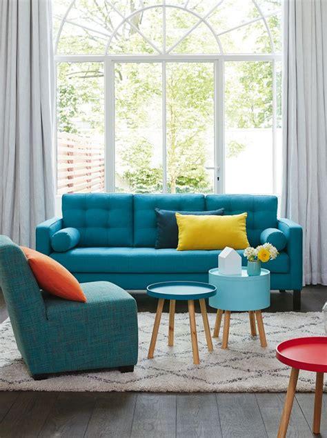 canapé turquoise 1000 idées à propos de canapé turquoise sur