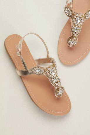 womens sandals gladiator wedge straps davids bridal