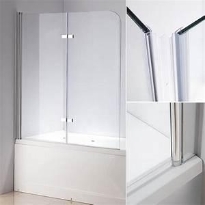 Duschwand Für Badewanne : 140 cm glas duschabtrennung badewannenaufsatz badewanne ~ Michelbontemps.com Haus und Dekorationen