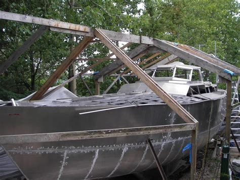 Backyard Boatbuilding by A Diy Backyard Boat Build Resulting In A Sailboat