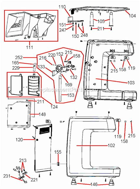 Espresso Maker Schematic by Breville 800es Parts List And Diagram Ereplacementparts