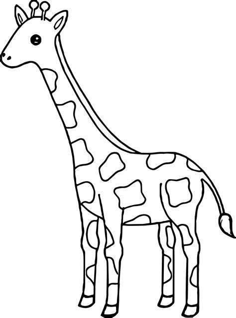 nice tall giraffe coloring page wecoloringpage giraffe coloring pages giraffe drawing giraffe