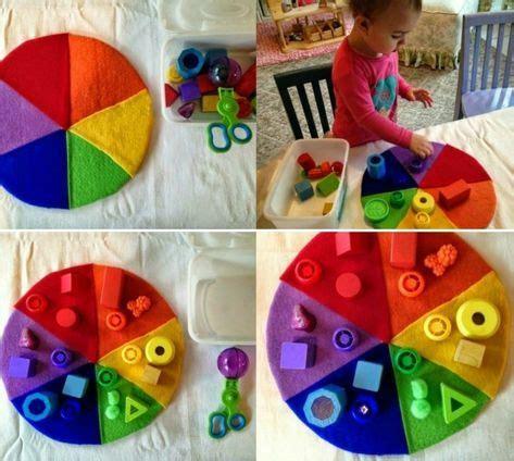 angebote für krippenkinder farben idee f 252 r bessere feinmotorik mit sortieren farben