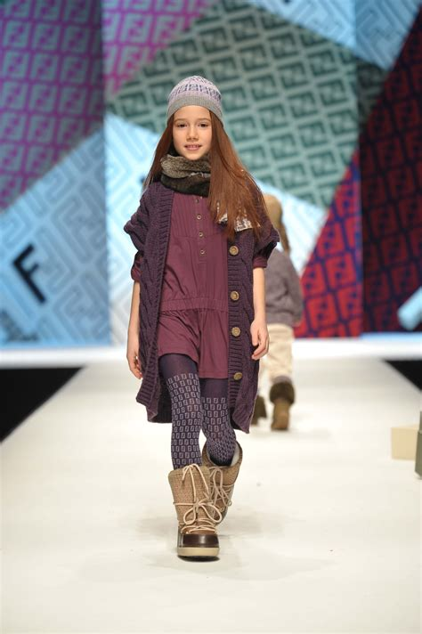Fendi Fall/Winter 2011 Collection for Kids | The Luxury Spot