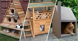 Arbre A Chat En Palette : 14 id es de cabanes pour chat qui feront des ravis ~ Melissatoandfro.com Idées de Décoration