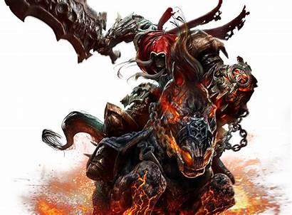 Darksiders Demon Renders Evil Devil Test Render
