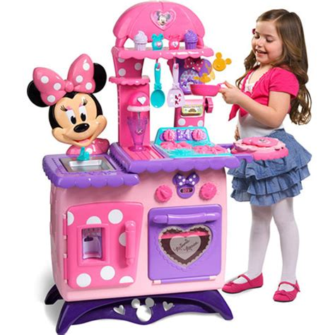 cuisine minnie smoby minnie mouse bow tique flipping play kitchen walmart com