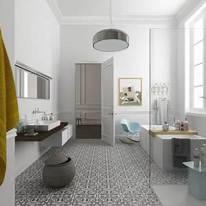Carreau Metro Blanc : 15 inspirations pour une salle de bain en noir et blanc ~ Preciouscoupons.com Idées de Décoration