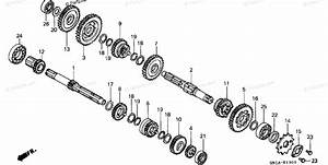 Honda Motorcycle 2001 Oem Parts Diagram For Transmission