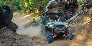 Honda Unveils New 2017 Pioneer 1000 Models  Off