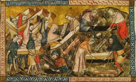 Black Death Middle Ages Europe