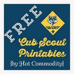 Cub Scout Free Printables