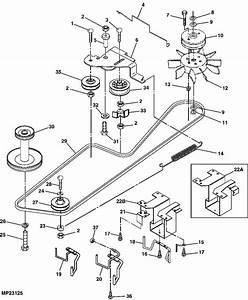 John Deere 140 Mower Deck Belt Diagram  John  Free Engine