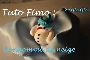 Tuto Pate Fimo : tuto fimo noel le bonhomme de neige youtube ~ Dode.kayakingforconservation.com Idées de Décoration