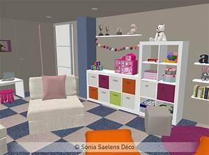 projet client un sous sol amenage en salle de jeux With decoration salle de jeux