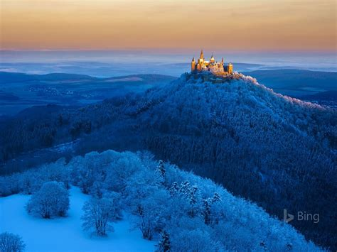 germany hohenzollern castle  stuttgart  bing
