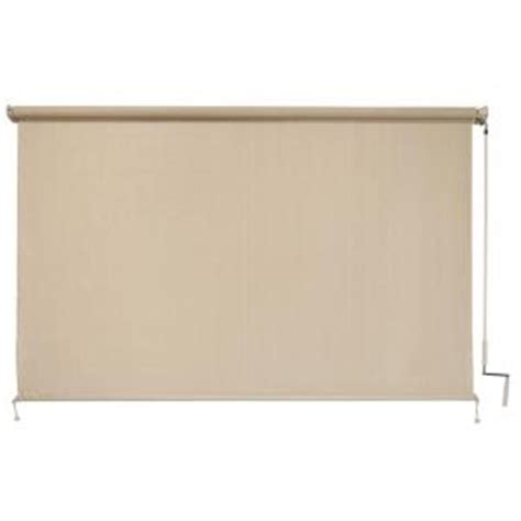 coolaroo sesame cordless exterior roller shade 72 in w