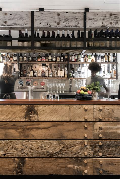 restaurant bar design ideas back in australia with a rustic and industrial bar design Rustic