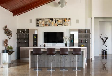 extravagant contemporary home bar designs