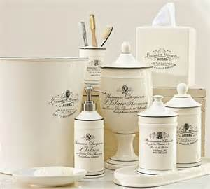 pottery barn bathroom accessories black white apothecary bath accessories traditional