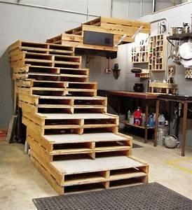 Sitzecke Aus Paletten : pallet wood stair designs pallet wood projects ~ Frokenaadalensverden.com Haus und Dekorationen