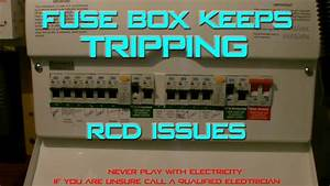 Fuse Box Keeps Tripping